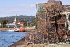 Port av Ferrol arkivbilder