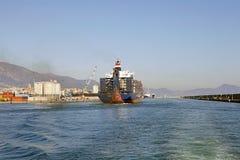 Port av Genoa, Italien Royaltyfria Bilder