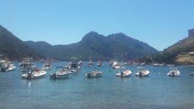 Port av Girolata arkivfoton