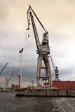 Port av Hamburg royaltyfria foton