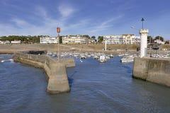 Port av Helgon-Michel-Kock-kocken i Frankrike Arkivfoton