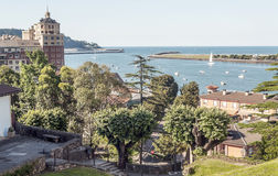 Port av Hondarribia Royaltyfria Foton