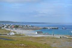Port av Inisheer Royaltyfri Foto