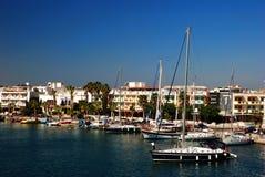 Port av Kos Arkivfoto