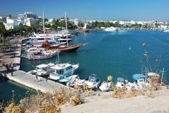 Port av Kos Fotografering för Bildbyråer