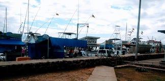 Port av Lahina Maui Royaltyfri Bild