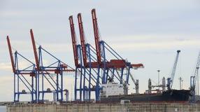 Port av Malaga Royaltyfria Bilder