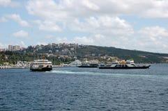 Port av Mersin  Fotografering för Bildbyråer