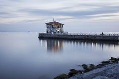 Port av Modaen på Istanbul Fotografering för Bildbyråer