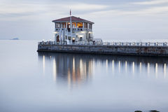 Port av Modaen på Istanbul Arkivfoton