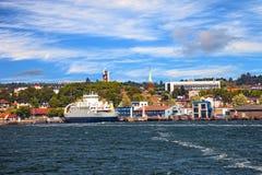 Port av mossa Fotografering för Bildbyråer