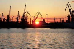 Port av Odessa Royaltyfria Foton