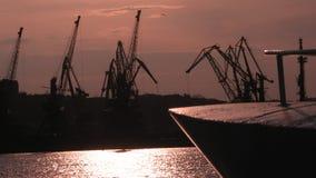 Port av Odessa, Ukraina Royaltyfri Fotografi