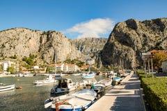 Port av Omis Royaltyfri Bild