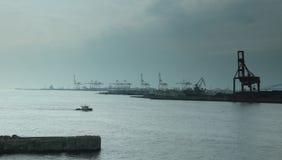 Port av Osaka Fotografering för Bildbyråer