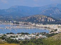 Port av Pollenca på Majorca Arkivfoto