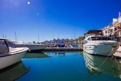 Port av Puerto Banus royaltyfri bild