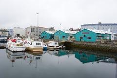 Port av Reykjavik Royaltyfria Bilder