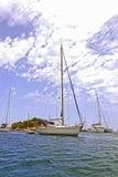 Port av San Miguel, Ibiza spain Arkivfoto
