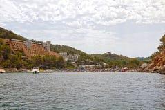 Port av San Miguel, Ibiza spain Royaltyfria Bilder