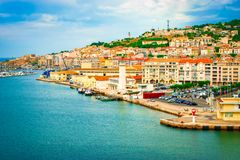 Port av Sete, Frankrike royaltyfri fotografi