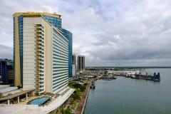 Port - av - Spanien - Trinidad och Tobago Royaltyfri Fotografi