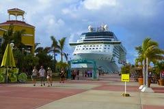 Port av St Maarten som är karibisk Royaltyfria Bilder