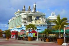 Port av St Maarten som är karibisk Royaltyfri Foto