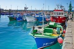 Port av staden för Los Cristianos, Tenerife kanariefågelöar tenerife Royaltyfria Foton