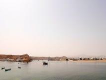 Port av Sur, Oman arkivbild