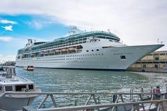 Port av Venedig, Italien Arkivfoton