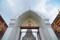 Port av Wat Arun Fotografering för Bildbyråer