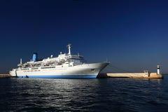 Port avec maritime Image libre de droits