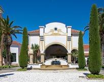 Port Aventura Hotel Main Entrance Royalty Free Stock Photos
