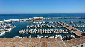 Port Bajadilla in Marbella Stock Photos