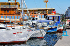 Port of Balaclava Stock Photography