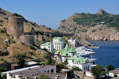 Port of Balaklava, Ukraine Stock Photography
