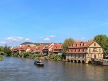 The port of Bamberg Stock Photos