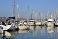 Port of Bandol in France Stock Images