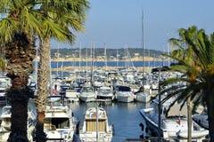 Port Bandol w Francja Zdjęcia Stock