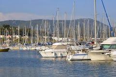 Port Bandol w Francja Obraz Stock