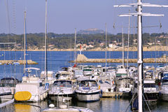 Port Bandol w Francja Fotografia Royalty Free
