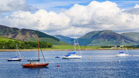 Port Bannatyne Scotland Stock Image