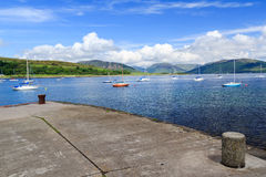 Port Bannatyne Scotland Stock Photography