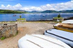 Port Bannatyne Scotland Stock Photos