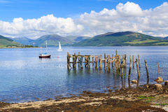 Port Bannatyne Scotland Royalty Free Stock Photos