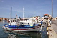 Port of Banyuls-sur-Mer in France Stock Image
