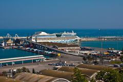 The port of Barcelona Royalty Free Stock Photography