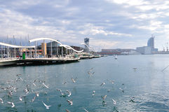 Port of Barcelona Stock Photos
