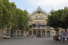 Port Barcelona Zdjęcia Royalty Free